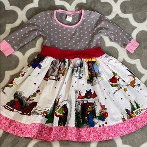 KPea grinch holiday dress